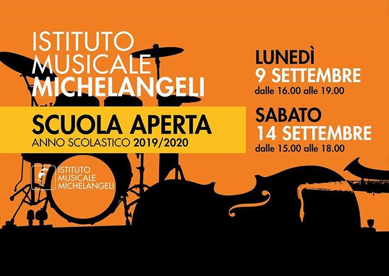 L'Istituto Musicale Michelangeli apre le porte e invita ad abbracciare la Musica con lezioni prova gratuite