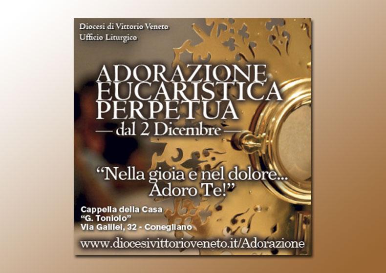 Apertura dell'Adorazione Eucaristica Perpetua