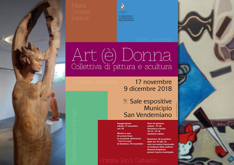 A San Vendemiano Art(è) Donna
