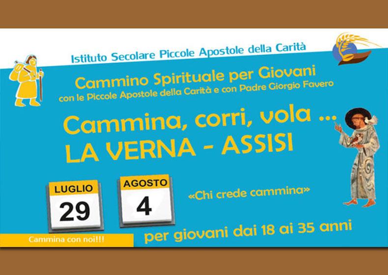 Cammina, corri, vola… La Verna – Assisi