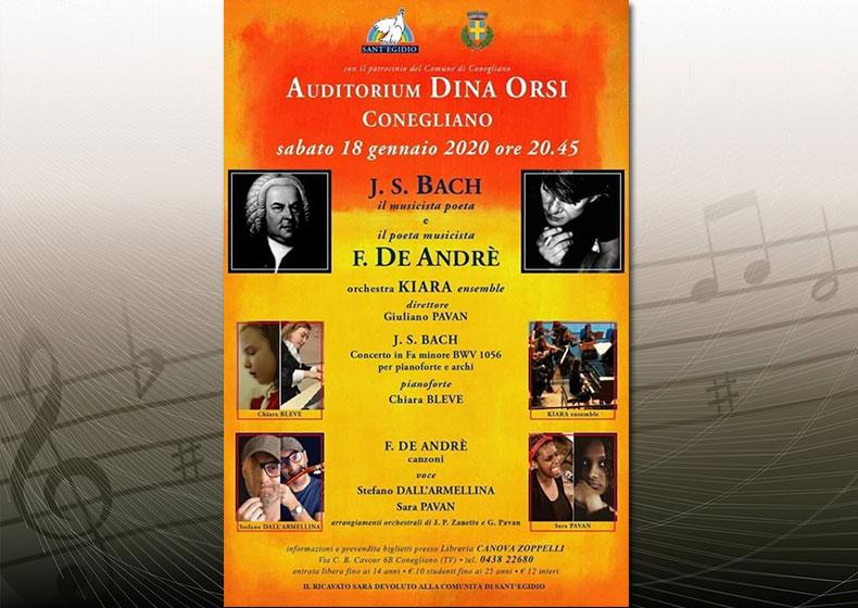 J.S.Bach il musicista poeta e F. De Andrè il poeta musicista