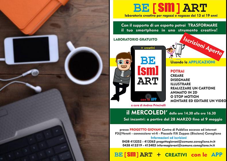 LABORATORIO BE(sm)ART: + creativi con le App