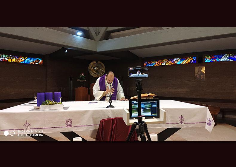 Liturgie in rete: con le nuove tecnologie la parrocchia rimane vicina ai fedeli