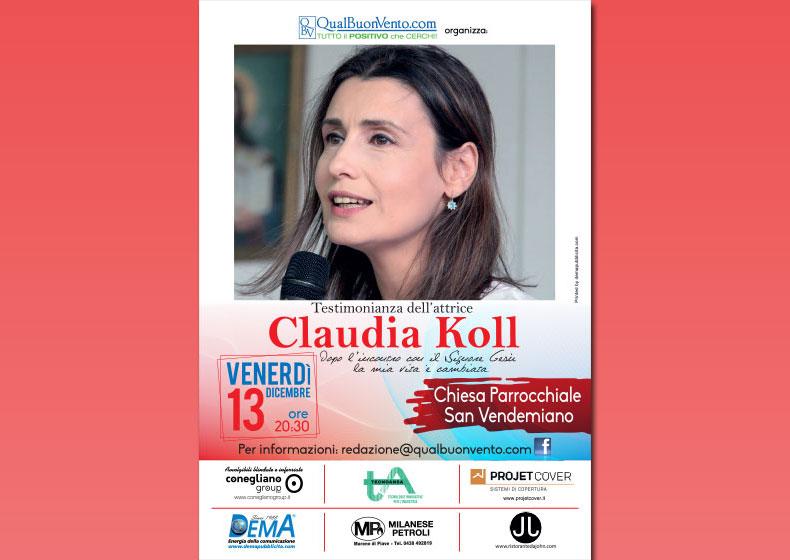 Claudia Koll a San Vendemiano