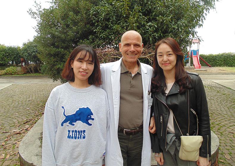 Studenti di medicina coreani per il loro tirocinio esterno scelgono La Nostra Famiglia