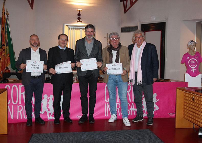 Presentata la sesta edizione della Corri in Rosa