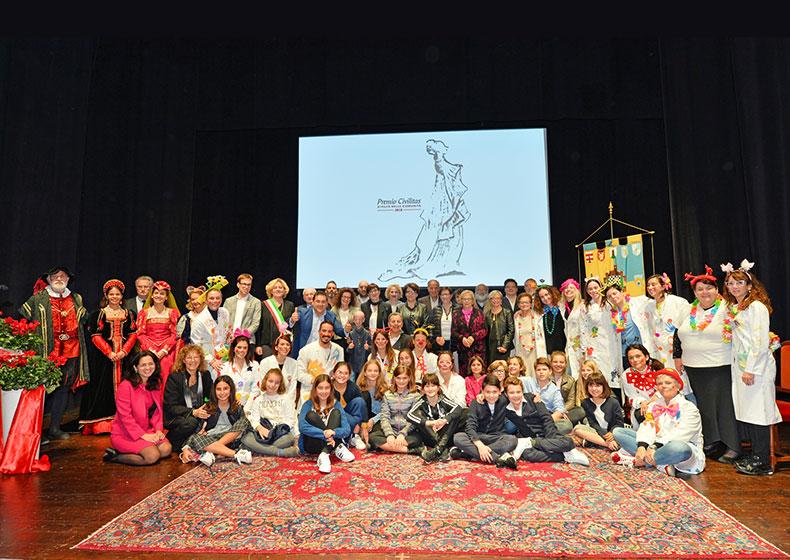 Premio Civilitas XXIV : ecco i premiati dell'anno dedicato al coraggio