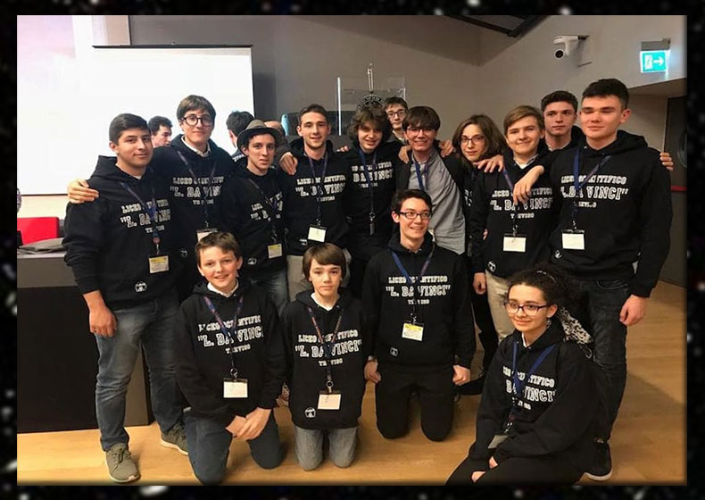 Liceo Da Vinci di Treviso: Palestra di Campioni di Robotica Spaziale