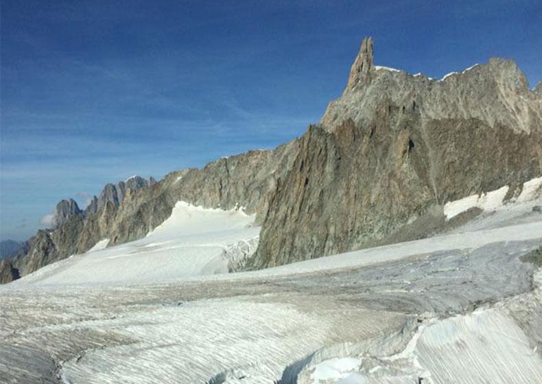 Dente del Gigante... Monte Bianco