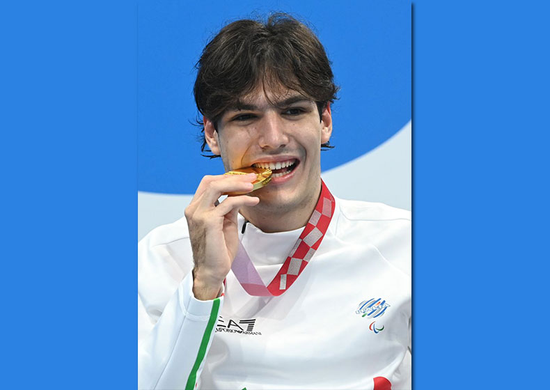 Antonio Fantin: oro alle Paralimpiadi (e record del mondo)