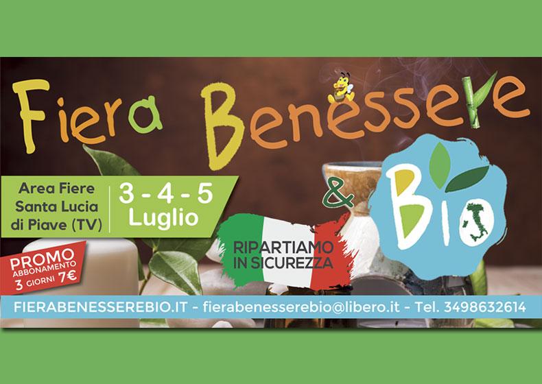 """""""Benessere & Bio"""", il nuovo appuntamento biologico ed ecosostenibile alla fiera di Santa Lucia di Piave"""