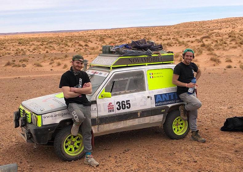 Nuova sfida nel deserto per Andrea Gaggia e Marco Dal Mas