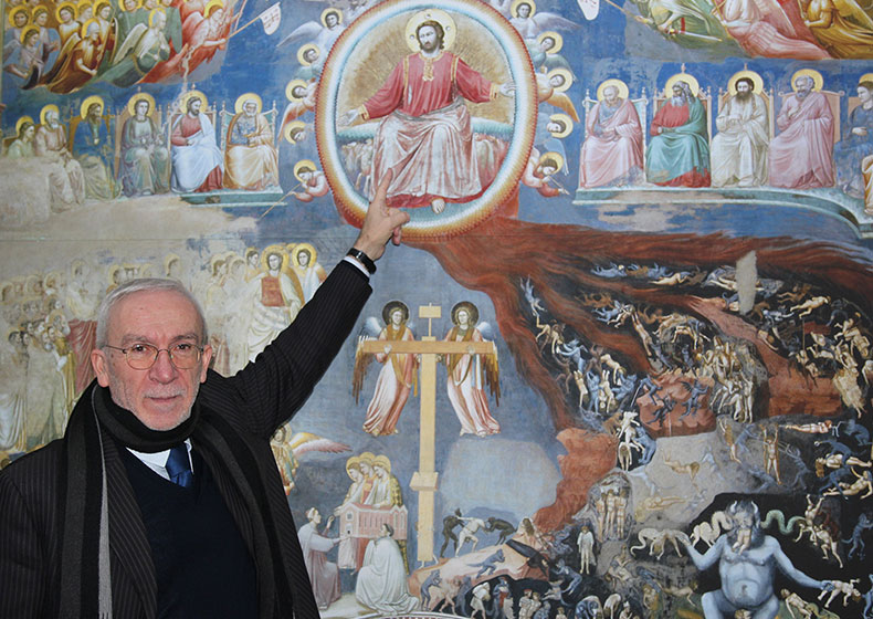 """La Cappella degli Scrovegni a Conegliano: """"A tu per tu con Giotto"""""""