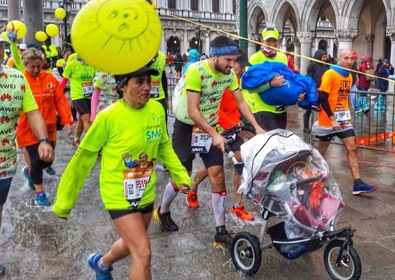 Correre sta a Sport come Maratona con il Gruppo Sma sta a Vita