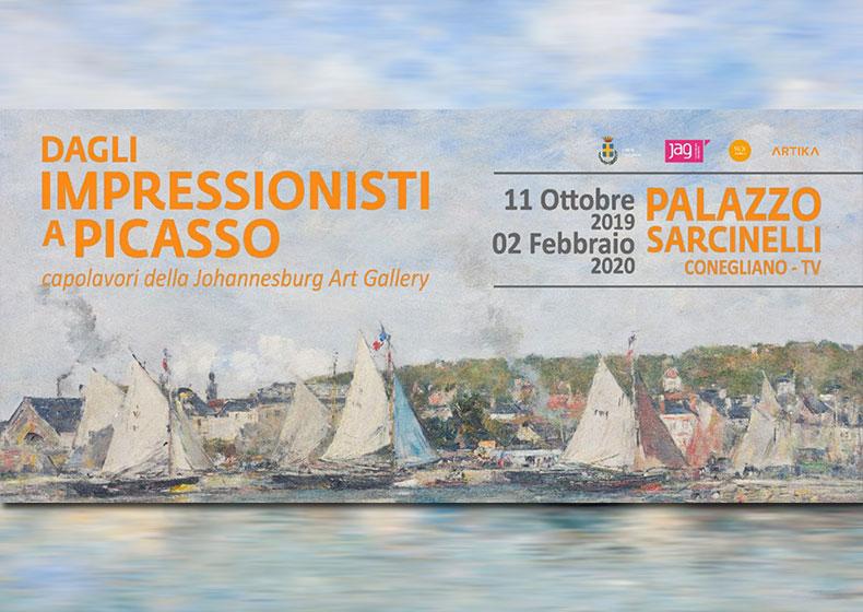 """Al Sarcinelli di Conegliano """"Dagli Impressionisti a Picasso"""""""