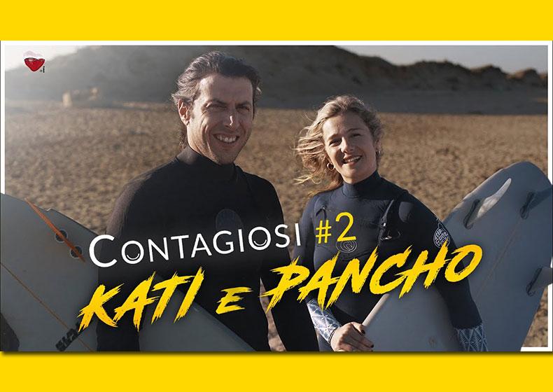 La storia di Kati e Pancho: in due su una tavola da surf