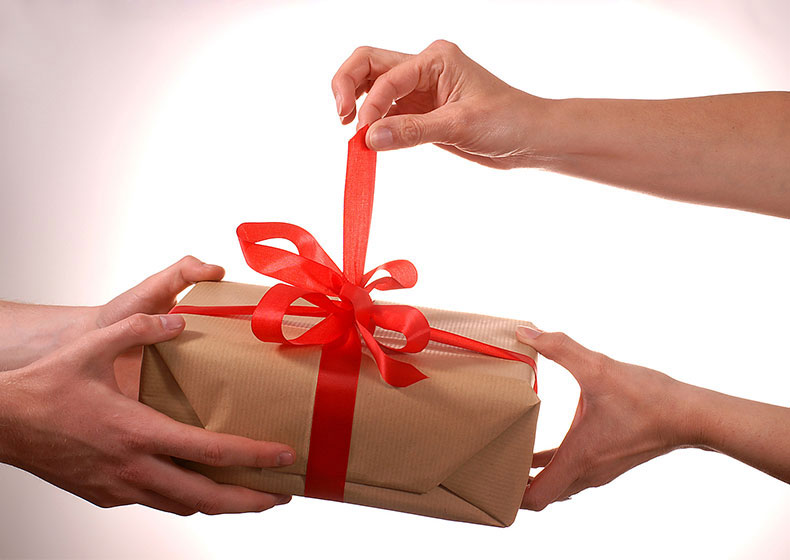 Meno regali, più doni!