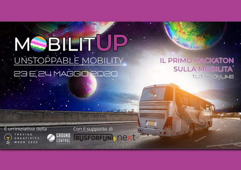 MobilitUP – unstoppable mobility: 100 innovatori a caccia di idee per la nuova mobilità del futuro