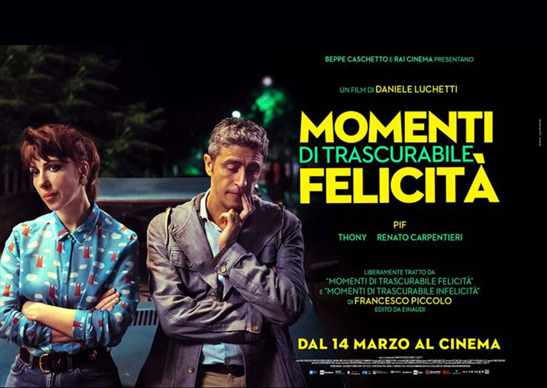 """""""Momenti di trascurabile felicità"""" al Cinema con Pif"""