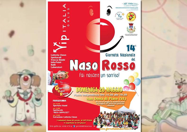 VIP Italia Onlus e la 14^ Giornata del Naso Rosso