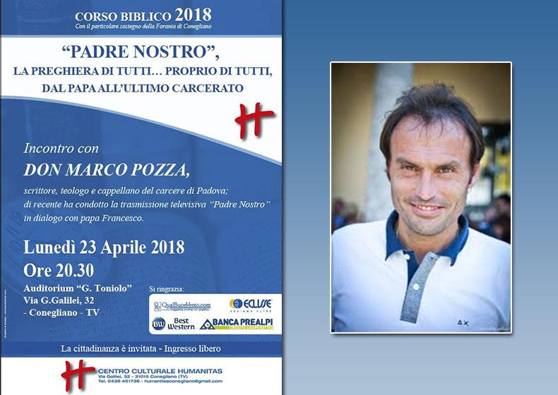 """Don Marco Pozza sul """"Padre Nostro"""""""
