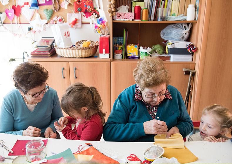 Buone prassi: scambio intergenerazionale