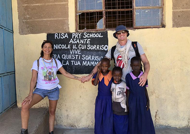 Amboseli, Kenya -  Qui Nicole è nata un'altra volta