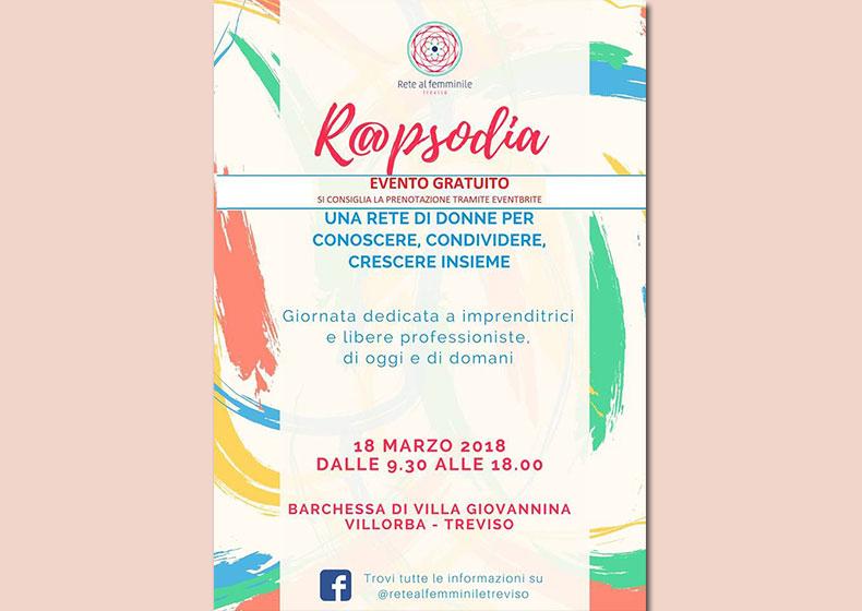 R@PSODIA: una giornata dedicata alle donne-imprenditrici di oggi e di domani