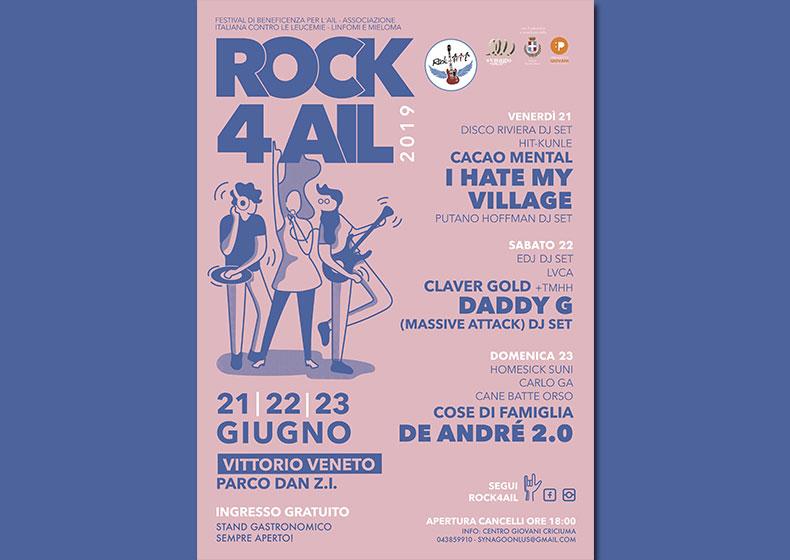 ROCK4AIL 2019: SOLIDARIETÀ DAL RESPIRO INTERNAZIONALE