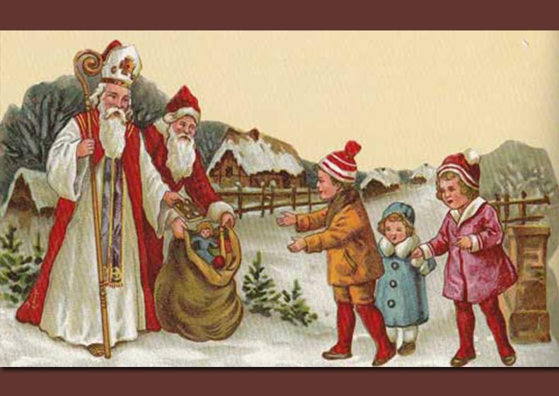 Babbo Natale E San Nicola.Qualbuonvento San Nicola Di Bari
