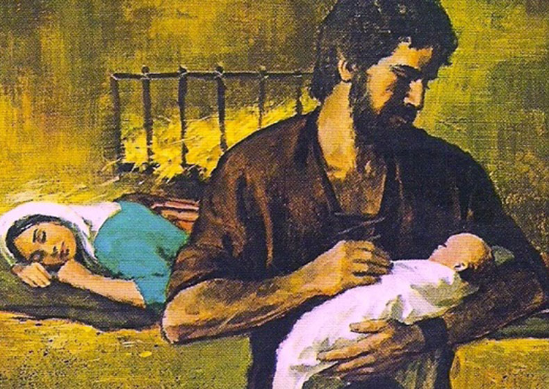 San Giuseppe: cuore di padre
