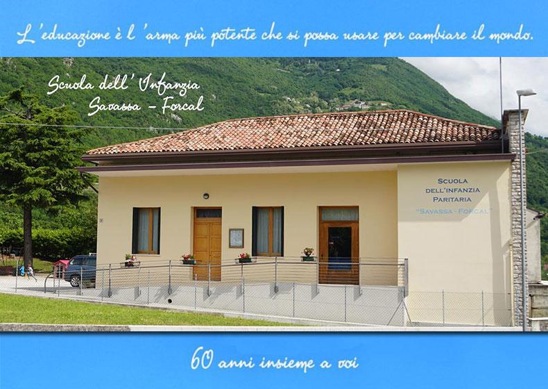 Scuola dell'Infanzia Savassa-Forcal: da 60 anni la comunità che educa