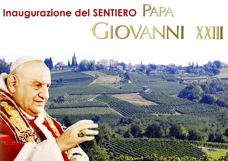 Inaugurazione del Sentiero Papa Giovanni XXIII