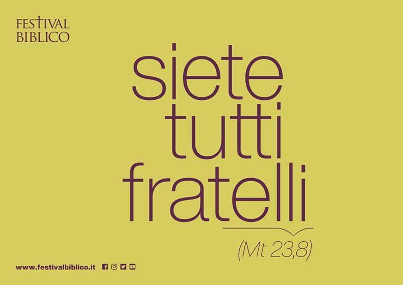 """SIETE TUTTI FRATELLI"" (Mt 23,8)"