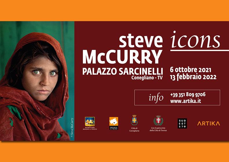 Le fotografie di Steve McCurry in mostra a Conegliano