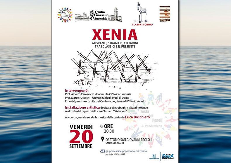 Xenia - migranti, stranieri, cittadini tra i Classici e il presente